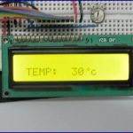 Digital Thermometer using PIC Microcontroller and LM35 Temperature Sensor