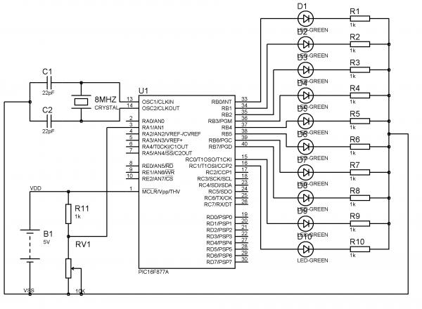 using adc module in pic microcontroller