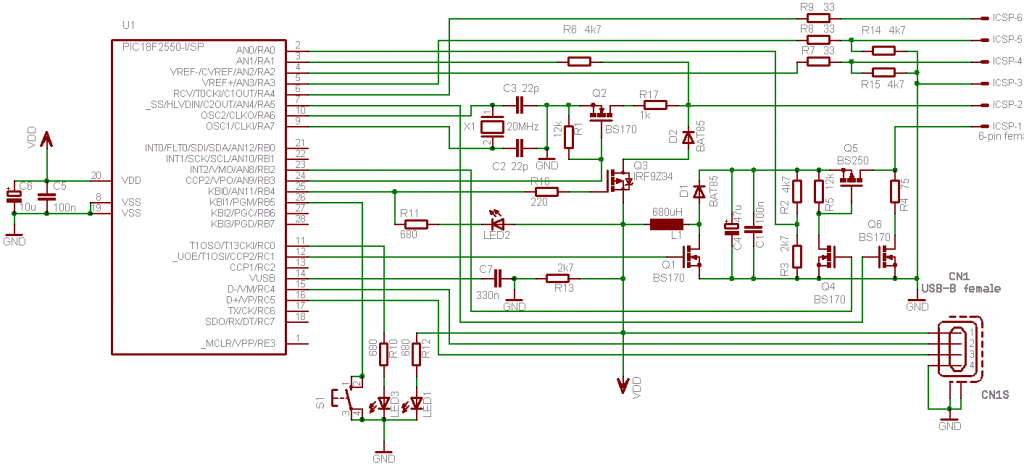 LED Blinking with PIC Microcontroller - MPLAB XC8 Compiler