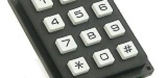 Matrix Keypad