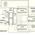 Cell Phone Controlled Land Rover Using Logic Gates Circuit Diagram