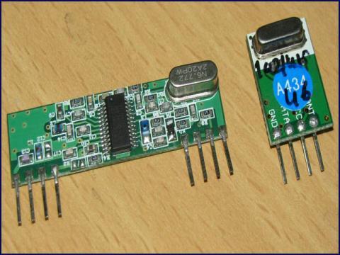 RXB6 RF RX/TX Pair - 433Mhz - Micro Robotics