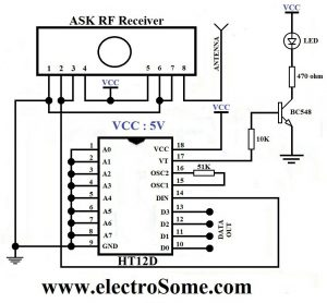 ASK RF Receiver