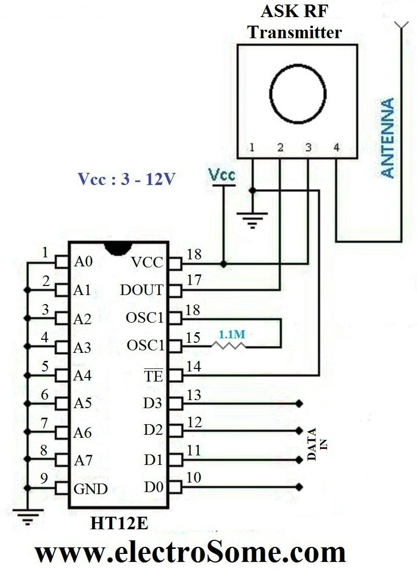 Water Level Indicator Controller Using Pic Microcontroller Simple Automatic Circuit Sensing Section