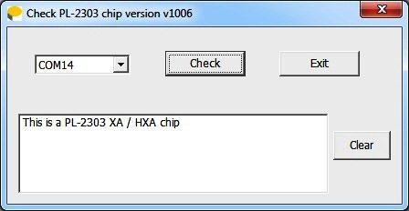 Checking Chip Version