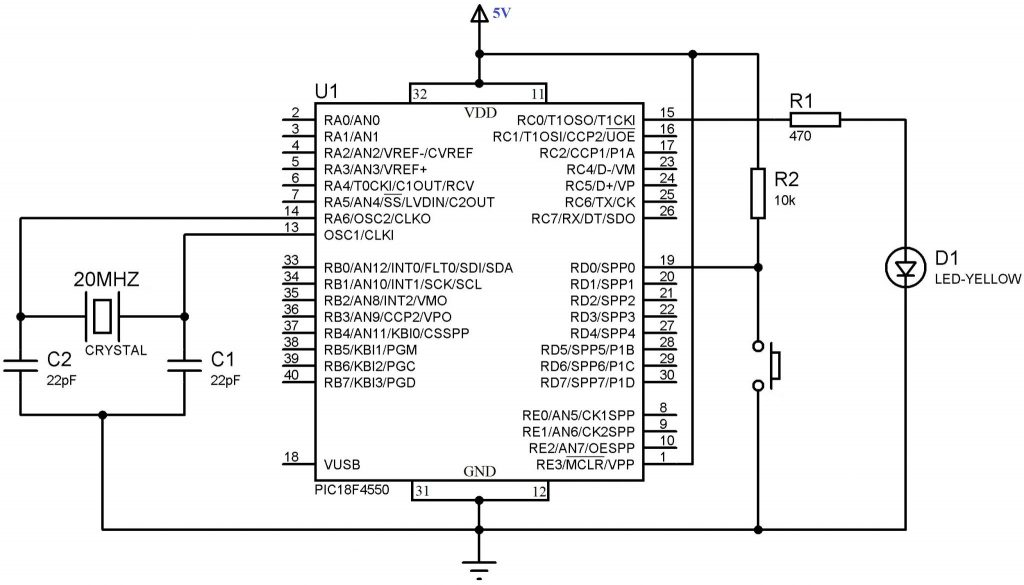 getting started with pic 18f microcontroller