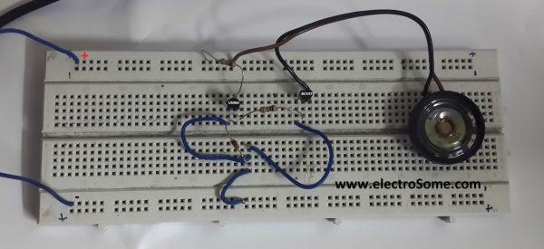 UM66 Melody Generator - Circuit for Beginners