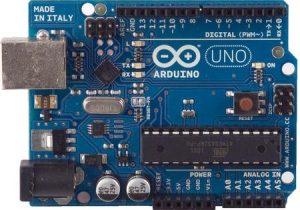 Arduino Uno R2 Front View