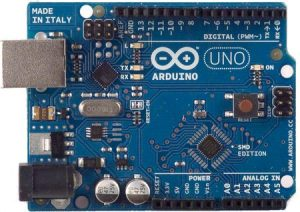 Arduino Uno SMD Edition Front View