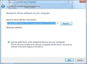 Arduino Driver Installing Step 5