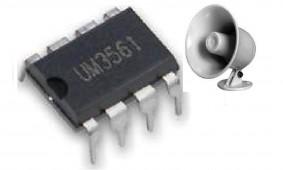 IC UM3561 Siren Generator