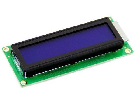 16x2 Blue Character LCD Module