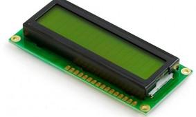 16x2 Green Character LCD Module