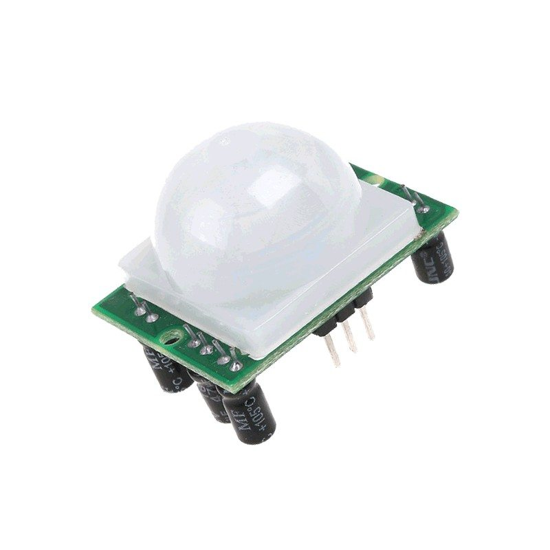 Interfacing PIR Motion Sensor HC-SR501 with Raspberry Pi
