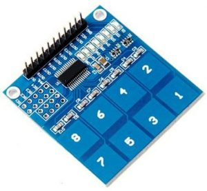 8 Channel Capacitive Touch Sensor - TTP226