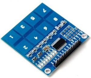 8 Channel Touch Sensor - TTP226
