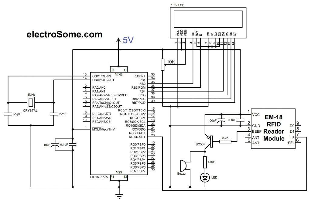 EM18 RFID Reader Module Module143