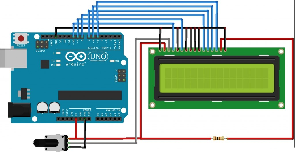 Interfacing LCD with Arduino UNO
