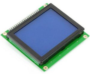128x64 Graphic LCD - Blue