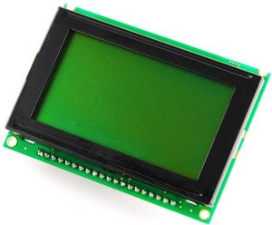 128x64 Graphic LCD - GREEN