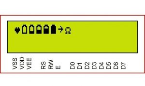 LCD Custom Characters