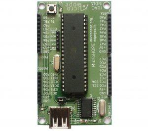 MicroHOPE Atmega32 Breakout Board