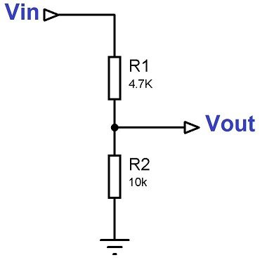 5V to 3.3V Voltage Divider