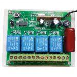 4 Channel RF Remote Relay - AC Control