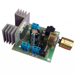 TDA7297 - Dual Channel Low Noise Audio Amplifier