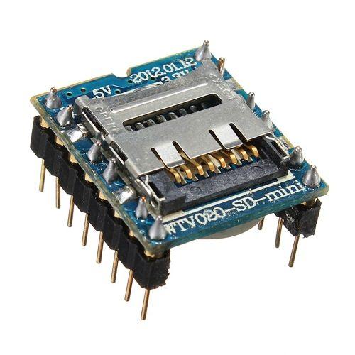 WTV020-SD-16P MP3 Micro SD Card Module
