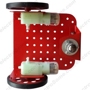 Bo Motor Metal Chassis Red