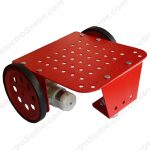 Metal Chassis Red - Robot Car