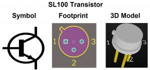 Symbol Footprint and 3D Model