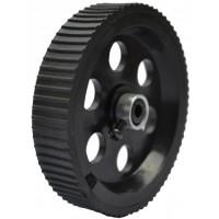 Black Screw Mount Tyre