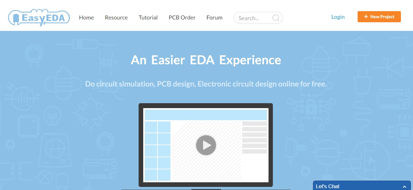 EasyEDA - A Cloud based PCB Design Software