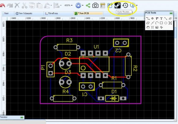 Using Autorouter - EasyEDA