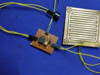 Rain Alarm using 555 Timer - PCB