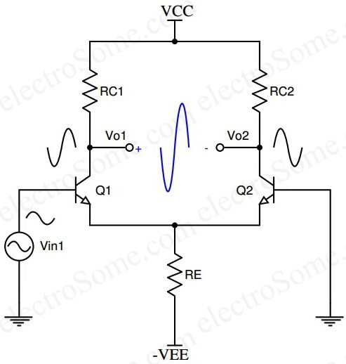 Differential Amplifier Using Bjt