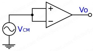 Common Mode Configuration - Opamp