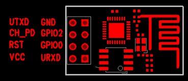 ESP-01 ESP8266 Module Pinout