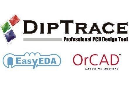EasyEDA vs DipTrace vs OrCAD