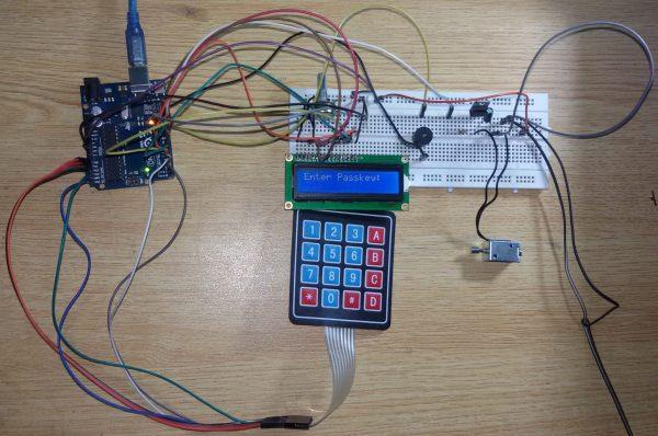 Digital Door Lock using Arduino Uno