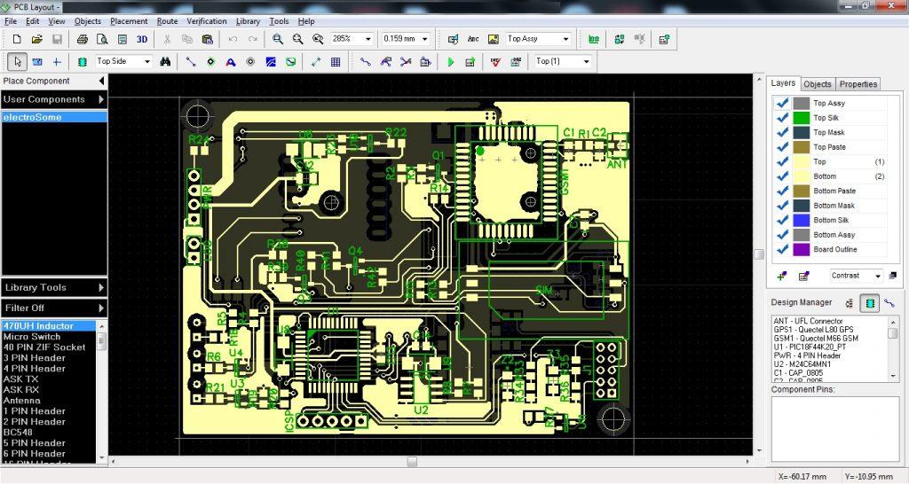 DipTrace PCB Layout