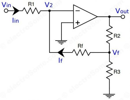 High Input Impedance Inverting Amplifier - Opamp