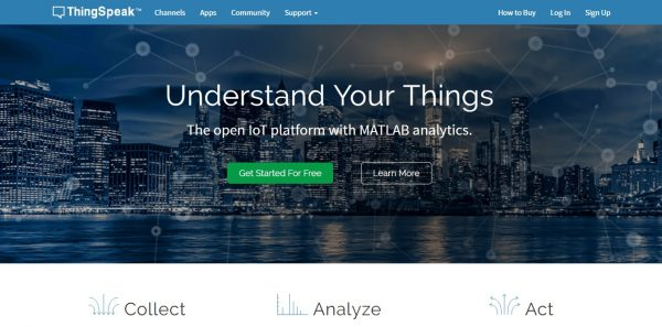 ThingSpeak - Home Page