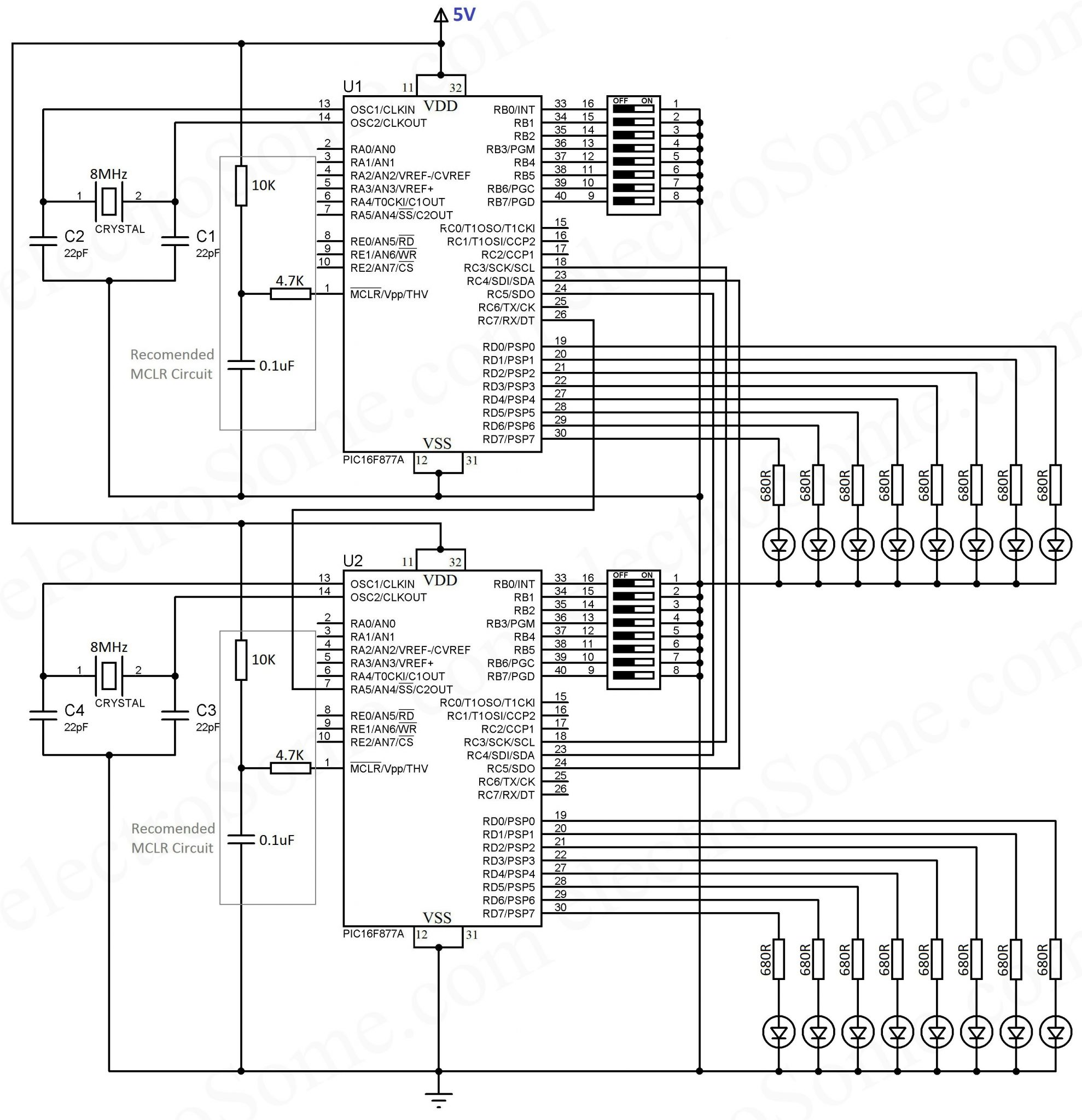 SPI Communication with PIC Microcontroller - MPLAB XC8