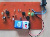 Mobile Phone Detector Circuit