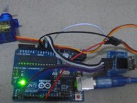Web Controlled Servo Motor Using Arduino Uno