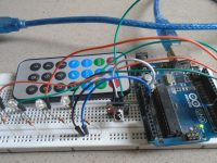 LED Control Using IR Receiver - Practical Implementation