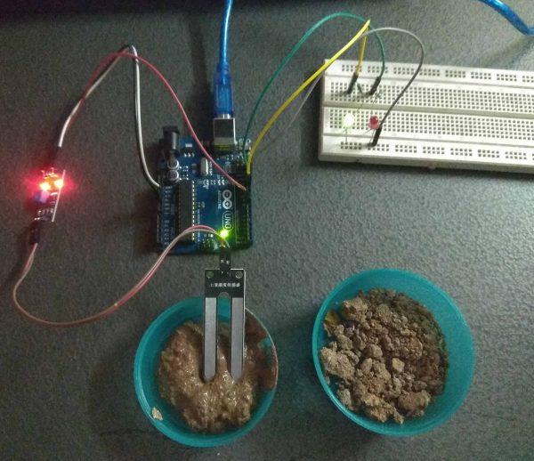 Interfacing Moisture Sensor with Arduino-Digital Mode- Practical Implementation